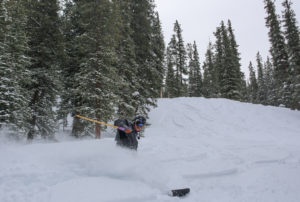 The Outback is open! North Peak is next up. Photo credit: Joey Reuteman