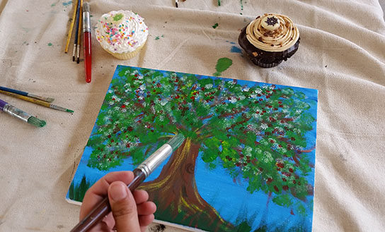 Cupcakes & Canvas, Summer Programs, Kidtopia, Keystone Resort, Colorado